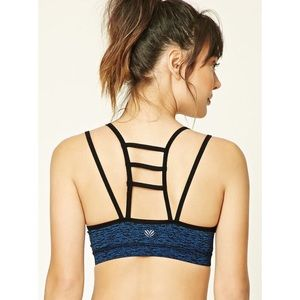 Forever 21 Low Impact Ladder Back Sports Bra